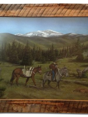 Montana Backcountry pack mules